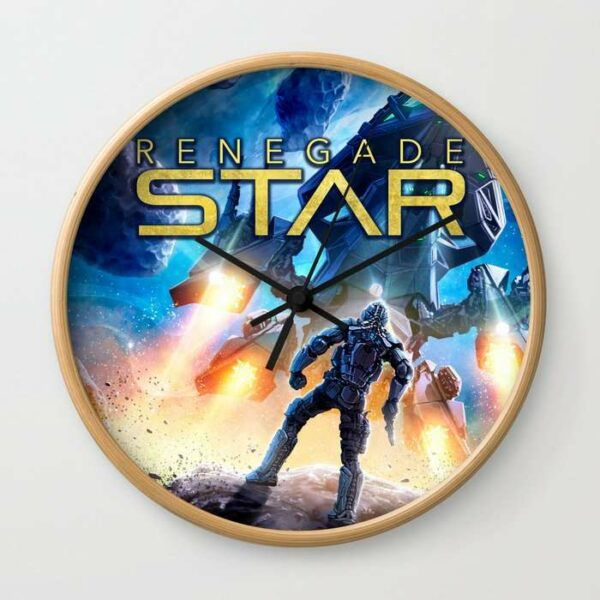 Renegade Star wall clock