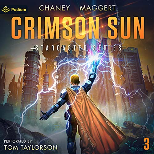 Starcaster Audiobook 3: Crimson Sun